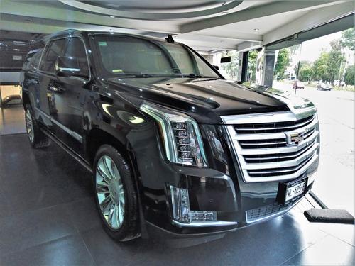 Imagen 1 de 13 de Cadillac Escalade Esv Platinum 4x4 2019  Con Garantia