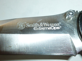 Navaja Utilitaria Para Camping Marca Smith And Wesson