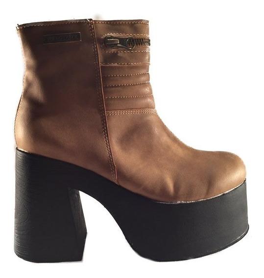Bota Baja Cierre Mujer Obvio En Shoestore