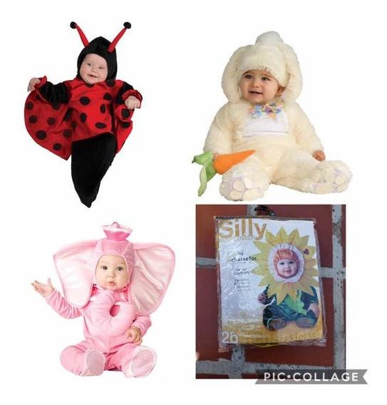 Disfraz Para Bebés Importados (elefante,coquito,mono,girasol