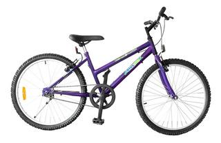 Bicicleta Blue Bike Rod 24 Mtb Dama Envío Gratis!