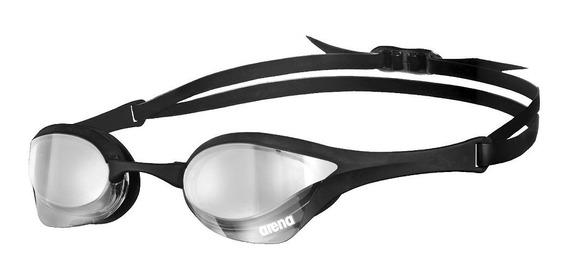 Óculos Natação Arena Cobra Ultra Mirror / Cinza-preto-preto