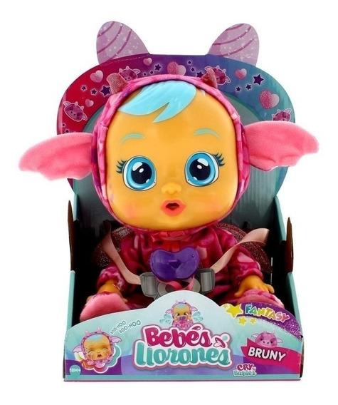 Cry Babies Bruny Muñeca Llora Lagrimas De Verdad Con Sonido