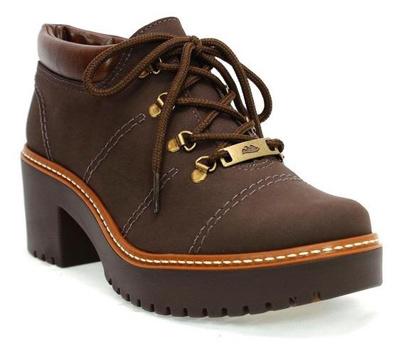 Sapato Feminino Karuna Marrom Dakota