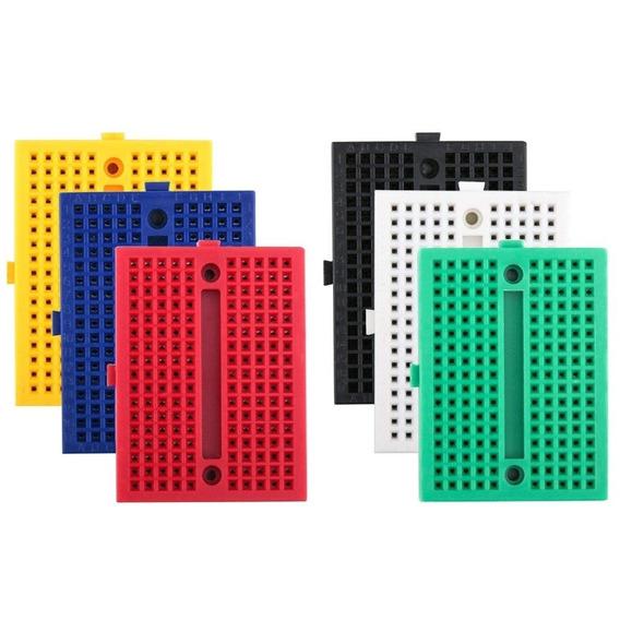 Par (2 Piezas) De Mini Protoboard 170 Puntos - Mini Proto