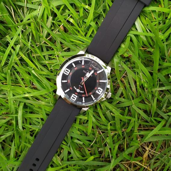 Relógio Masculino Technos 2117lbn C/ Nf Original