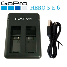 Carregador Duplo De Bateria Para Hero 5 Gopro 5 Go Pro 6