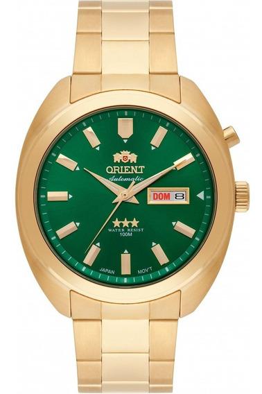 Relógio Orient Masculino Automático 469gp077 E1kx - Verde