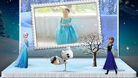 Projeto Proshow Producer Álbum 3d Frozen