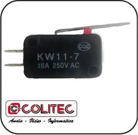 Interruptor Chave Micro Switch Fim Curso C/ Haste 2,8 Cm