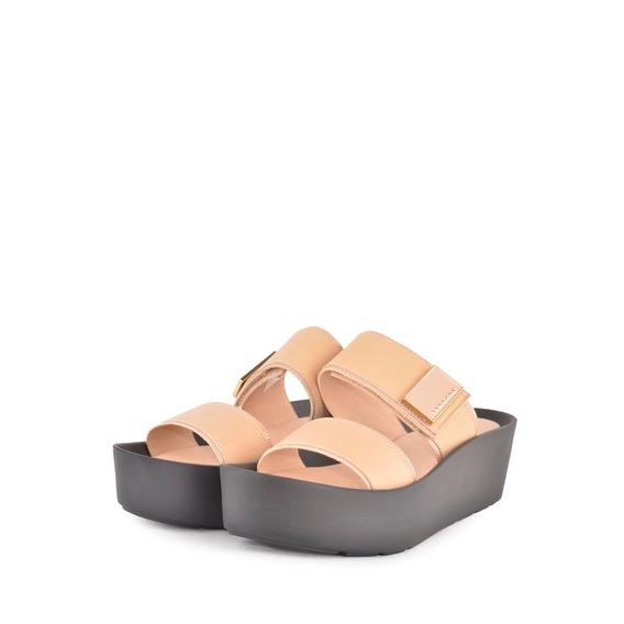Zuecos Zapatos Chatitas De Mujer Maria - Ferraro -