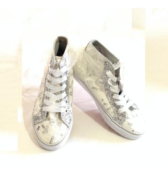 25 Zapato Botin Casual Niña Y Quinceañera Tall 4 Marca Piper