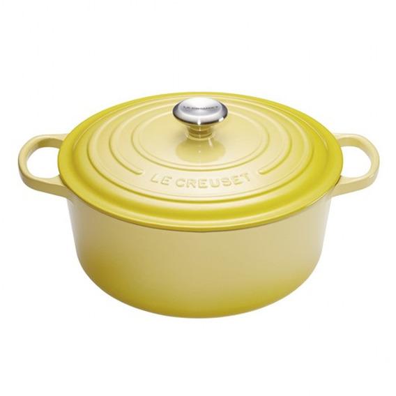 Panela Redonda Signature 20 Cm Amarelo Soleil Le Creuset Le Creuset