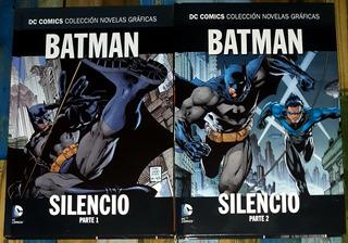 Salvat: Novela Grafica Batman: Silencio. Tomo 1 Y 2. Ed Ecc