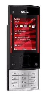 Celular Nokia X3 X3-00 Desbloqueado, Raridade, 3mp Fm - Novo