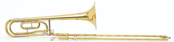Trombone De Vara Hoyden Htbv-25l Sib Bb/f 1 Rotor