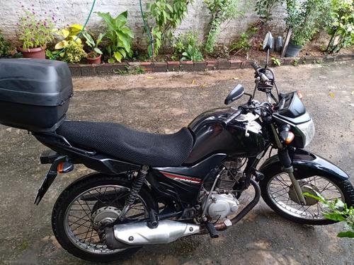 Imagem 1 de 10 de Honda Cg 125 I Fan Preta
