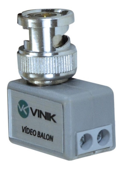 Conector Vídeo Balun 90 Graus Sv40 Vinik