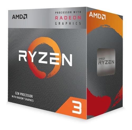 Kit Processador Amd Ryzen 3 3200g Placa A320m Memória 8gb