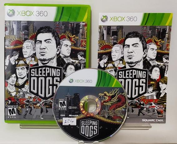 Sleeping Dogs- Xbox 360 Original - Semi Novo