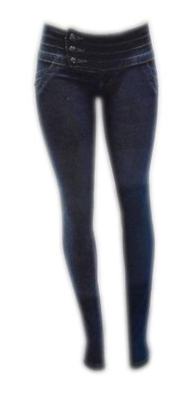 Calça Jeans Fem Cós Médio Levanta Bumbum Tam 38 Ref 1538