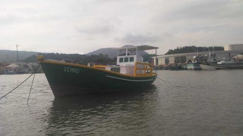 Barco De Madeira Barco De 7 Metros