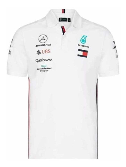 Playera Polo Mercedes Petronas F1 2019