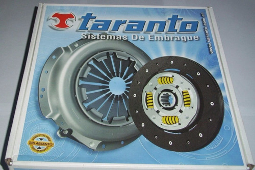 Kit De Embrague Taranto Fiesta/ka/focus/ecosport/escort 1.6
