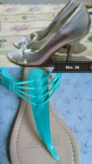 Combo Stiletto + Sandalias Nro 36