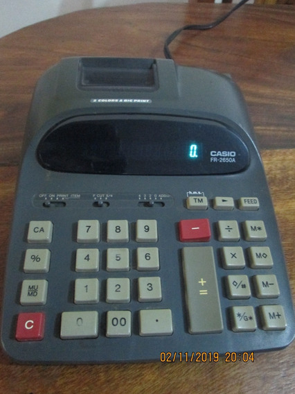 Sumadora Calculadora Casio Fr-2650a