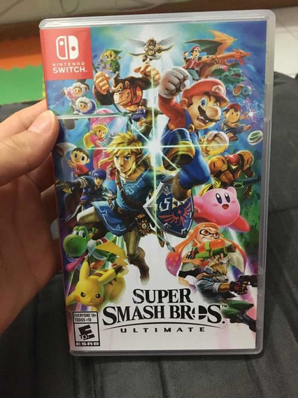 Jogo Super Smash Bros Ultimate, Para Switch