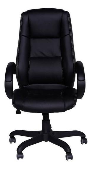 Cadeira De Escritório Com Base Em Nylon - Preto - Tommy Des