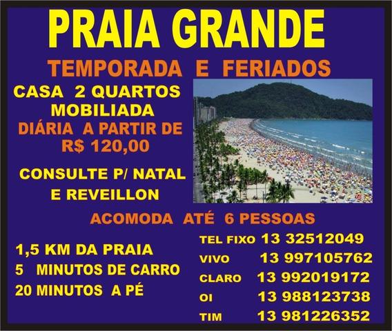 Praia Grande - Tempordada E Fins De Semana