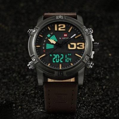 Relógio Masculino Naviforce Social De Luxo Moda Masculina