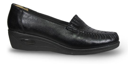 Modigliani 194 Zapato Mocasin Base Media Pie Delicado Mujer