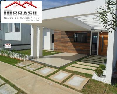 Linda Casa Térrea A Venda, Park Real, Indaiatuba, Sp - Ca04856 - 32839340
