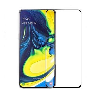 Película Vidro 5d 9h Galaxy A80 / A90 + Pelicula Skin Traseira