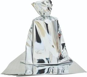 Embalagem Saco Para Presente Metalizado 50x70 Pc. C/ 50 Un.