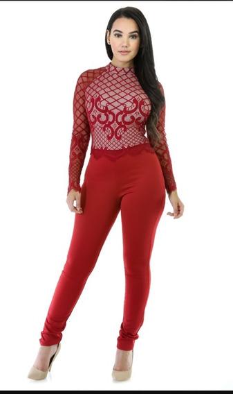 Jumpsuit Color Rojo