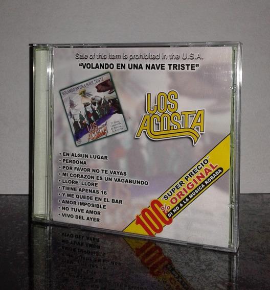 Cd Los Acosta Volando En Una Nave Triste Discos Disa Ed 2005