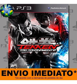 Jogo Ps3 Tekken Tag Tournament 2 Psn Play 3 Mídia Digital