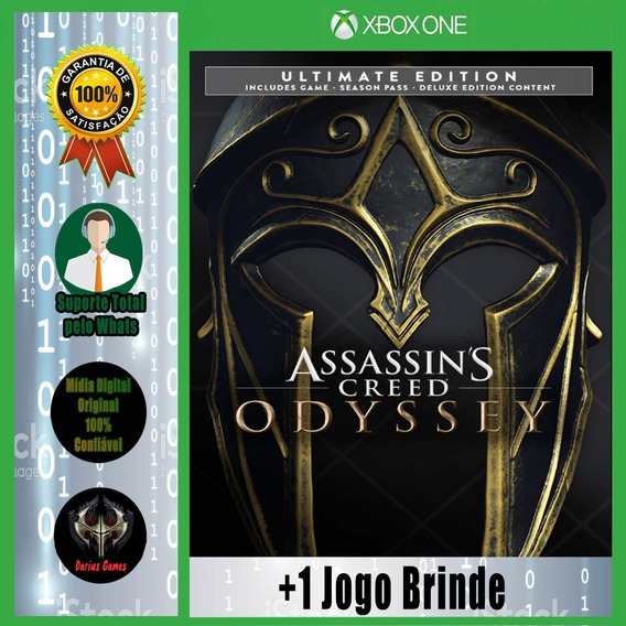 Assassins Creed Odyssey Ultimate Xbox One Digita +1 Jogo