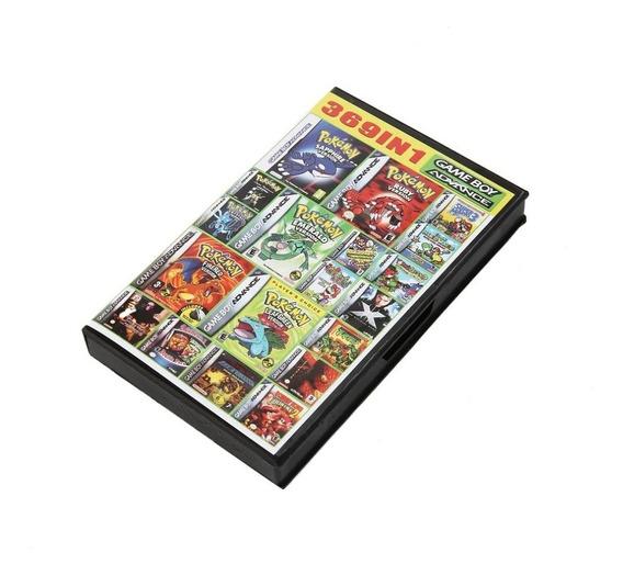 Cartucho Fita 369 Em 1 Game Boy Advance Gba Multi Jogos