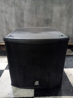 Bafle Activo Subwoofer -db Technologies Sub15h- 800w Rms