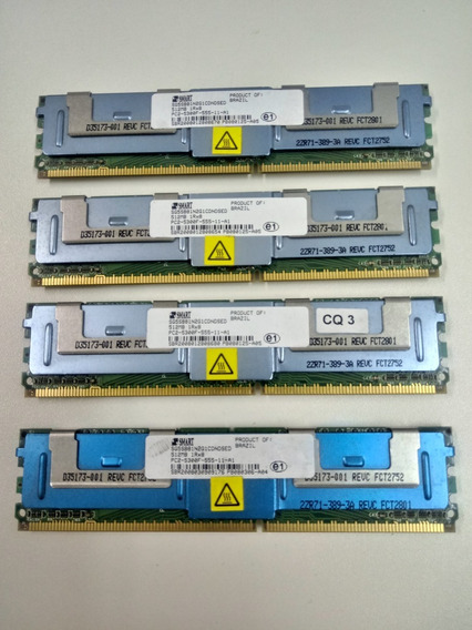 Kit 2gb Mem Ddr2 ( 4 X 512mb)-dell Poweredge 1900- Original