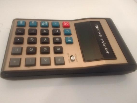 Calculadora C.itoh Pocket-8mr Raro