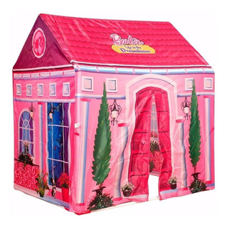 Casita Fashion Barbie 2 En 1 Con Accesorios Jlt Fd9482