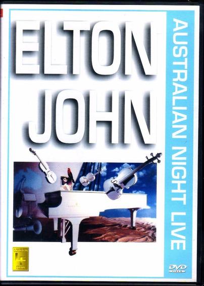 Elton John Australian Night Live Dvd Original Novo Lacrado