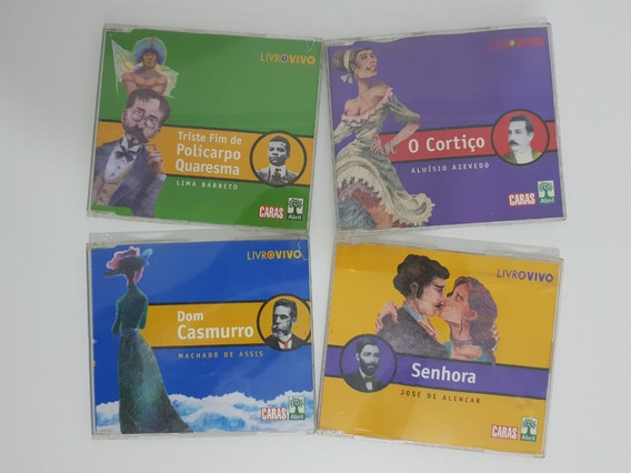 Cd Livro Vivo - Caras - Áudio Literatura - Audiobook Enem
