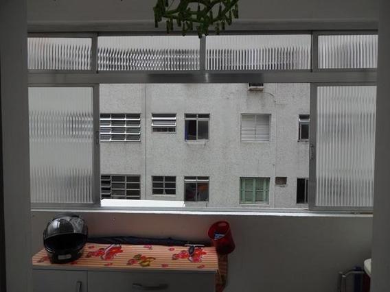 Kitnet Em Ponta Da Praia, Santos/sp De 43m² 1 Quartos À Venda Por R$ 260.000,00 - Kn93281